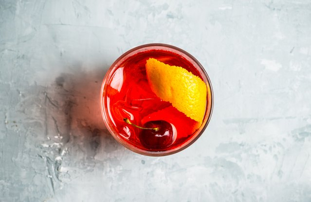 Holiday Sazerac Cocktail