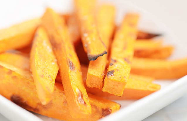 Simply Sweet Potato Fries