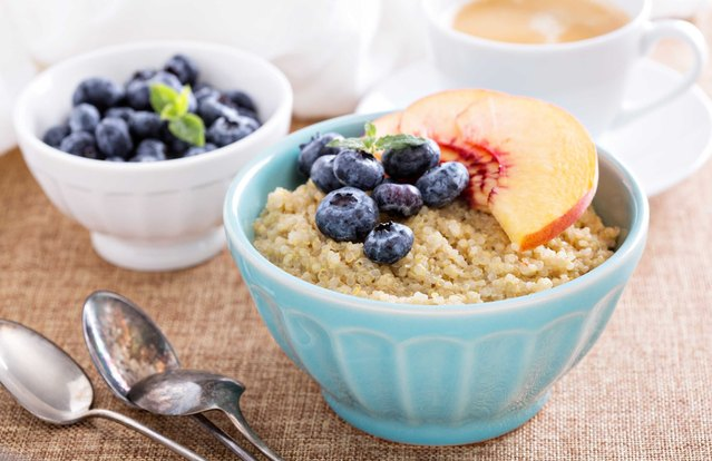 Quinoa and Amaranth Supercharged Breakfast