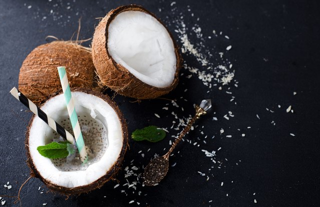 Coconut Chia Cocktail