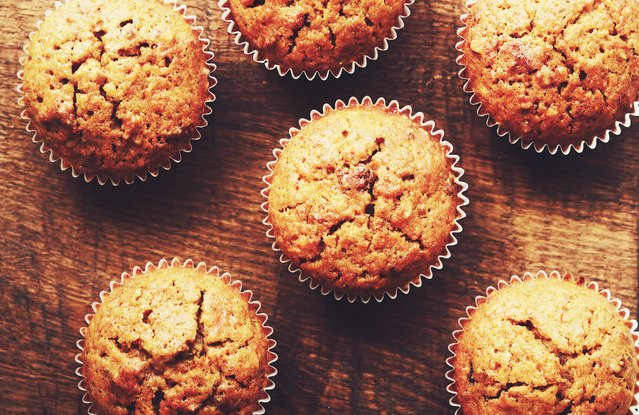 Heather's Whole Wheat Carrot Cake Muffins