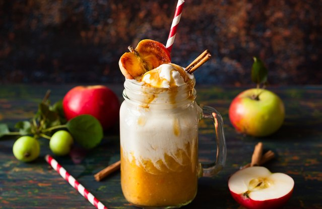 Spicy Cider Smoothie