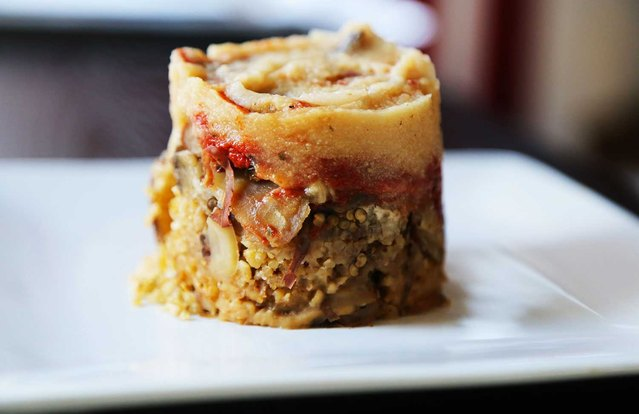 Slow Cooker Vegetarian Moussaka