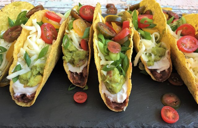 No-Cook Mexican Layer Tacos