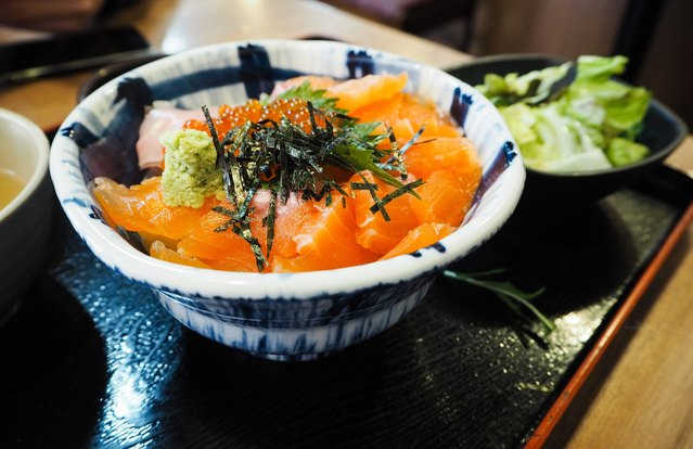 Japanese-Inspired Salmon Bowl