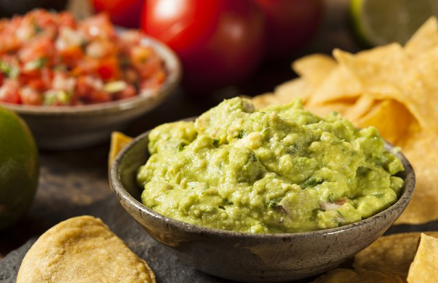 Roasted California Grape Guacamole