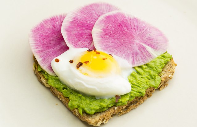 Easy Poached Egg Avocado Toast