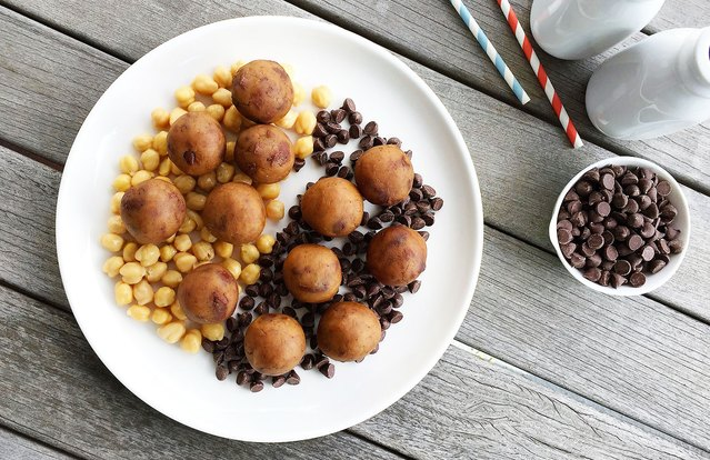 Chocolate Chip-Chickpea Protein Balls