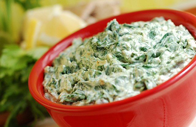 Jess's Healthier Spinach and Artichoke Dip