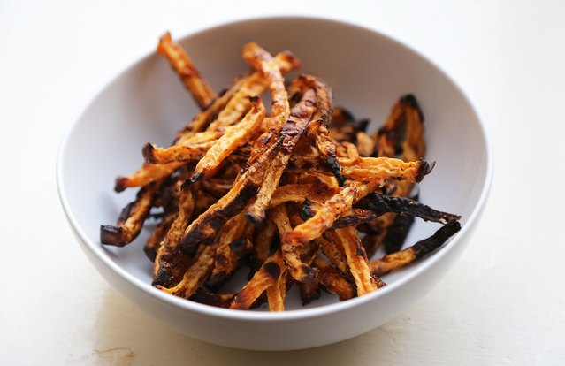 Roasted Rutabaga Fries