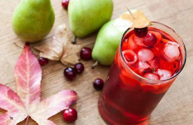 Cranberry Pear Cooler
