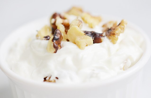 Walnut Yogurt Breakfast
