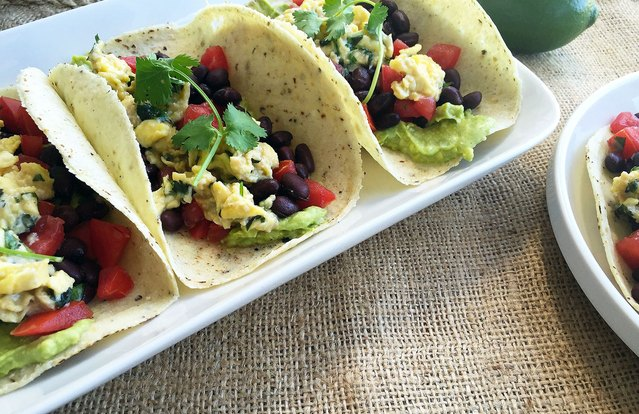 All-Day Veggan Soft Tacos