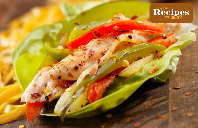Roasted Dijon Chicken Lettuce Wraps