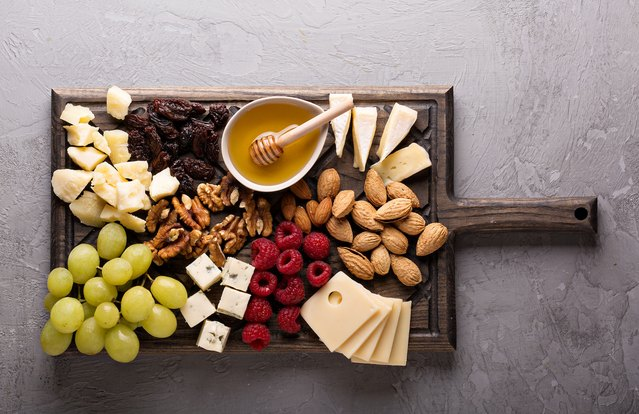Fruit, Seeds and Cheese