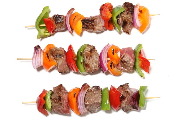 Middle Eastern Grass-Fed Steak Kebabs
