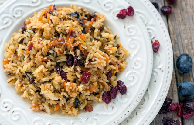 Colorful Rice-Pilaf