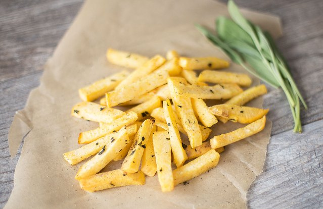 Rustic Rutabaga Fries