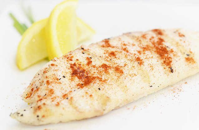 Lemon Seasoned Tilapia