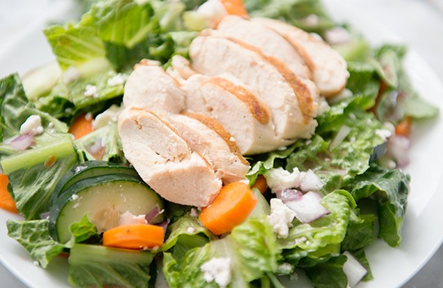 Chicken & Goat Cheese Salad