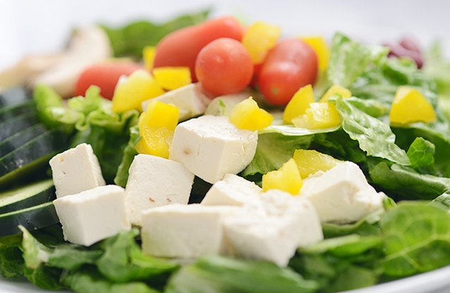 Chef's Salad with Tofu