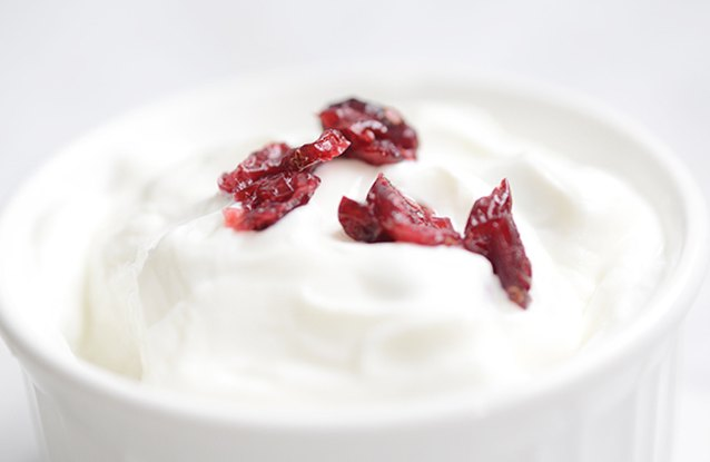 Cranberry Soy Yogurt