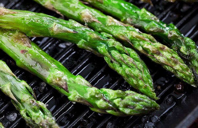 Easy Blood Orange Asparagus Saute