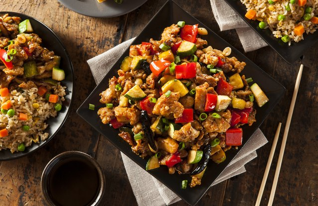 Chicken, Cashew and Vegetable Stir-fry