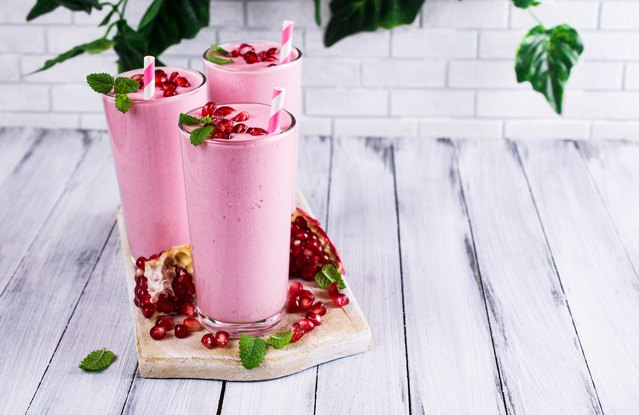 Pomegranate and Goji Smoothie