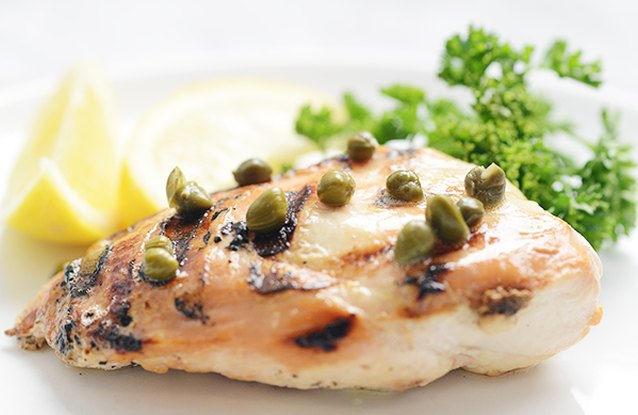 Lemon & Caper Grilled Chicken Breast