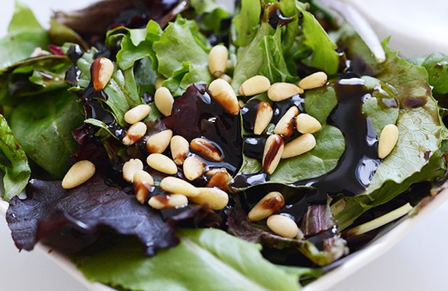 Light Pine Nut Salad