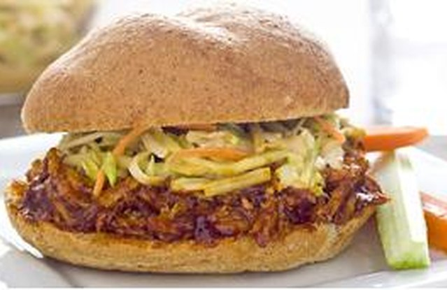 Slow Cooker Saucy Pulled Pork Sandwiches