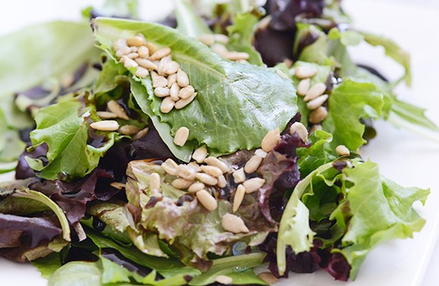 Mixed Greens and Sunfower Seed Salad