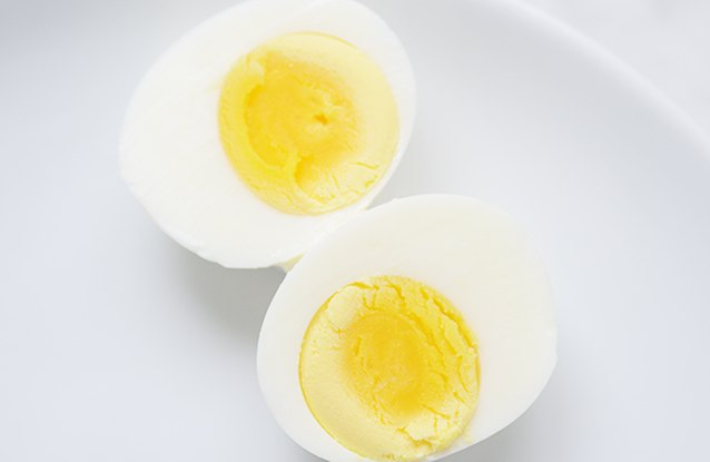 Hardboiled Egg Snack
