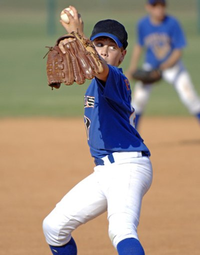A torn rotator cuff is a common injury for baseball pitchers.