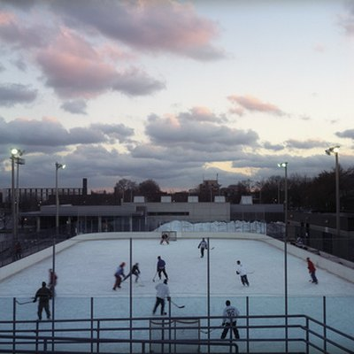 Ice hockey, like running, is perfect for cold weather.