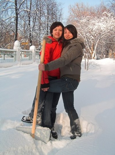 Snow shovelling can be strenuous, so shovel carefully.