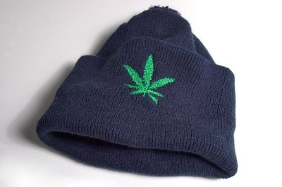 Accessories with pot symbols signal marijuana use.