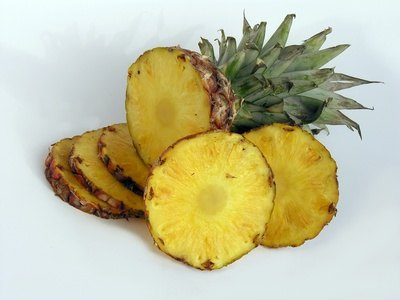 Eat as much pineapple as you can over the summer months.