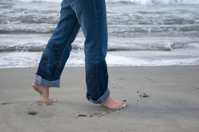 Walk or do calf raises in sand to strenghten your ankle.