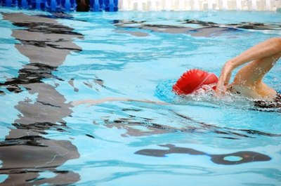 Swimming can be an effective aerobic workout.