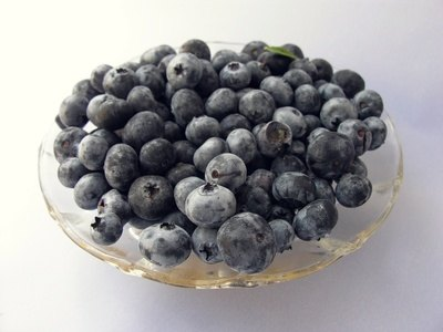 Blueberries are a part of a heart healthy diet.