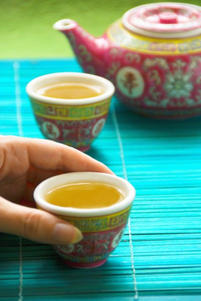 Green tea is a good alternative to coffee.