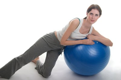 Ball Exercises for Love Handles