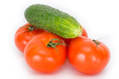 Non-sweet fruits like tomatoes and cucumbers are an important part of the RAVE diet menu.