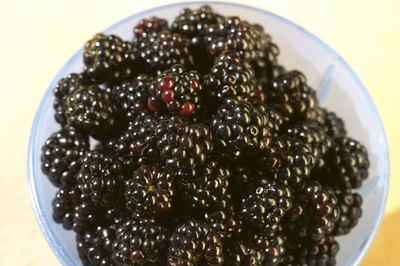 Blackberries have vitamin c.