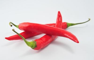 Cayenne peppers are naturally antispasmodic.