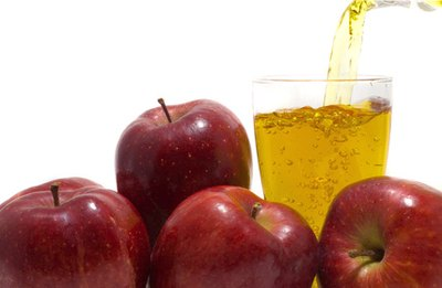 Mix your apple juice with unsweetened applesauce to help lower glycemic load.