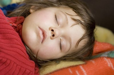 Children who wet the bed are notoriously deep sleepers.