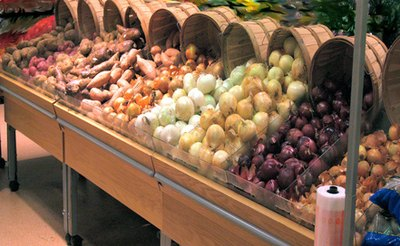 The produce section is a place of possibility for vegetarian cooks.